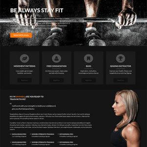 gym web development