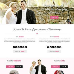 wedding website development