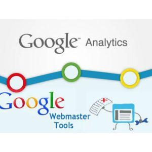 google analytics and webmaster tool setup