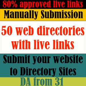 web directories submission