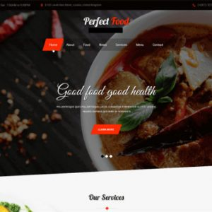 food website for sale